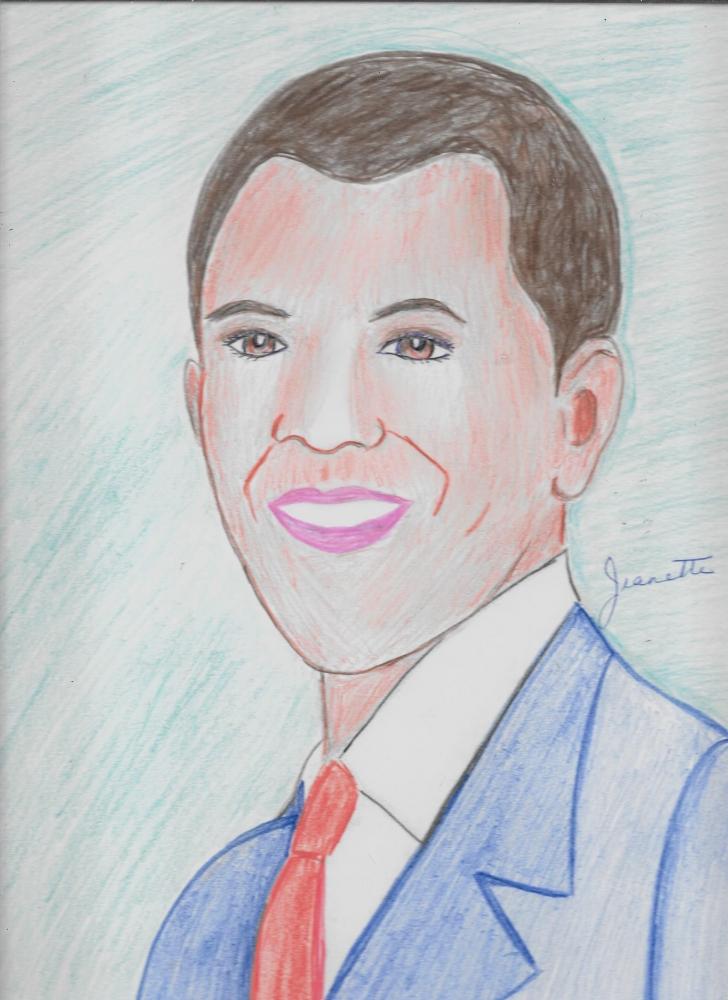 Barack Obama by Jeanette